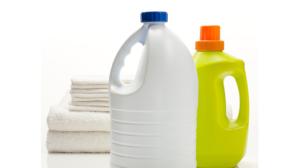 bleach and detergent