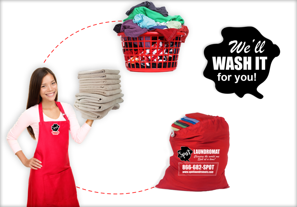 wash dry fold laundry service