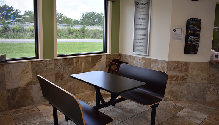 spot martinsburg seating area