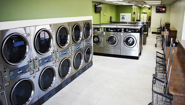 Willowtree Laundromat Equipment