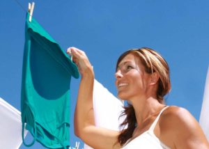Clothesline tips for Hanging Shirts