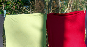 clothesline tips for saving space