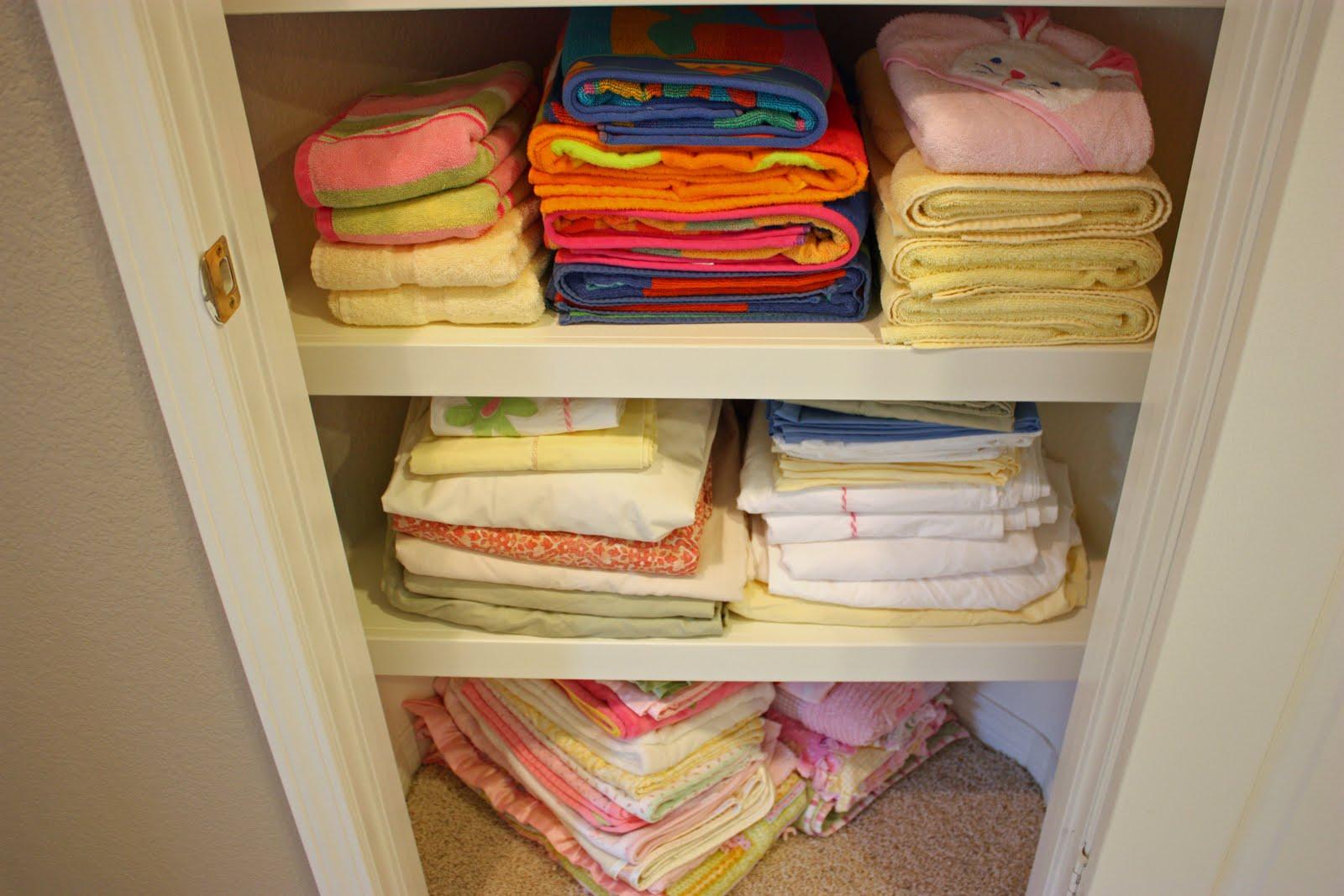holiday table linen closet