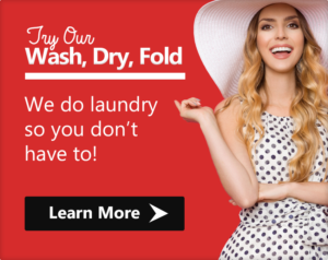 try our wash, dry, fold. we do laundry so you don't have to! Learn more.