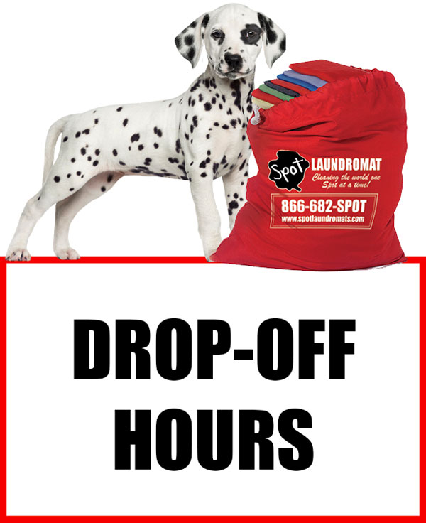 drop-off spot laundromat hours
