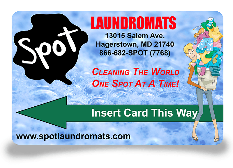 Spot Laundry Card An Easier Way To Pay