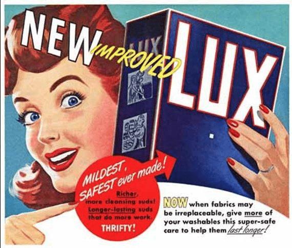 Lux Detergent Ad