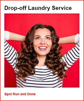 Wash, Dry and Fold Spot Drop-off laundry service