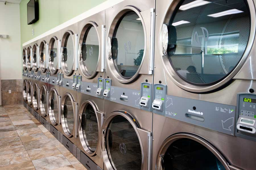 spot laundromat hillcrest location dryers