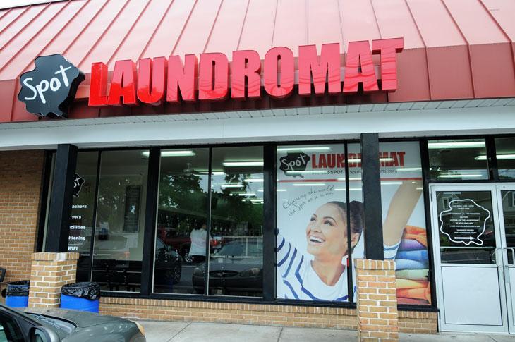 Virginia Avenue Spot Laundromat Exterior