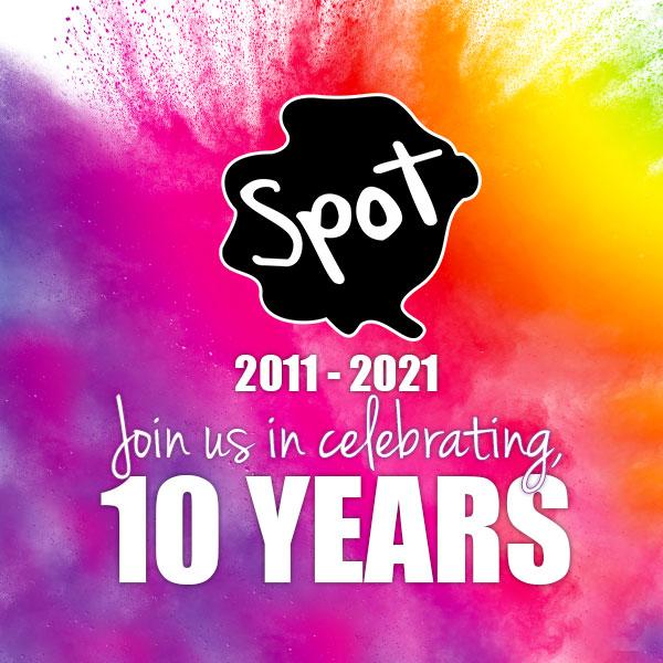Spot laundromats 10 year anniversary