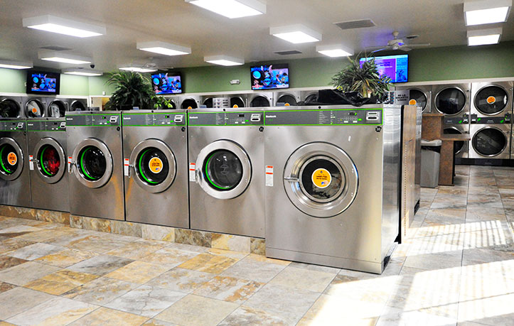 Spot laundromat Martinsburg WV large and small washers