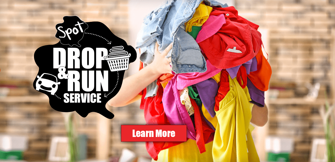spot_drop_and run same day laundry service spot laundromats hagerstwon MD, Martinsburg WV, Frederick, MD