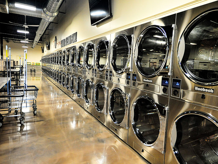 Spot laundromat southgate chambersburg, dryers