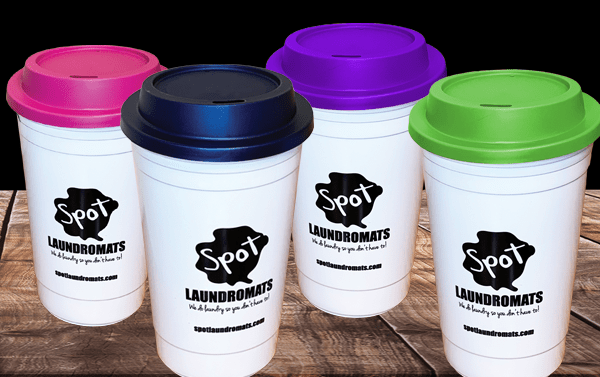 Spot Tumblers = Free Refills. Now available in 4 popular colors.