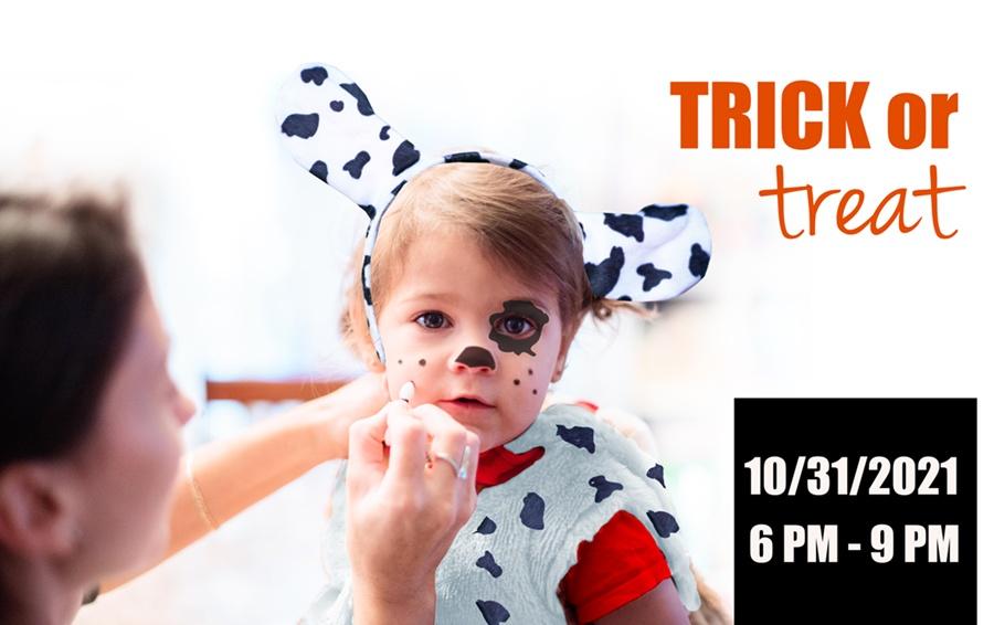 spot laundromats halloween trick or treat 10/30/2021