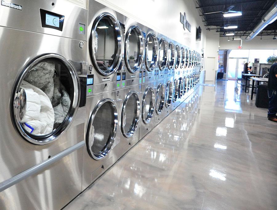 Spot Laundromat Front Royal, VA Dryers